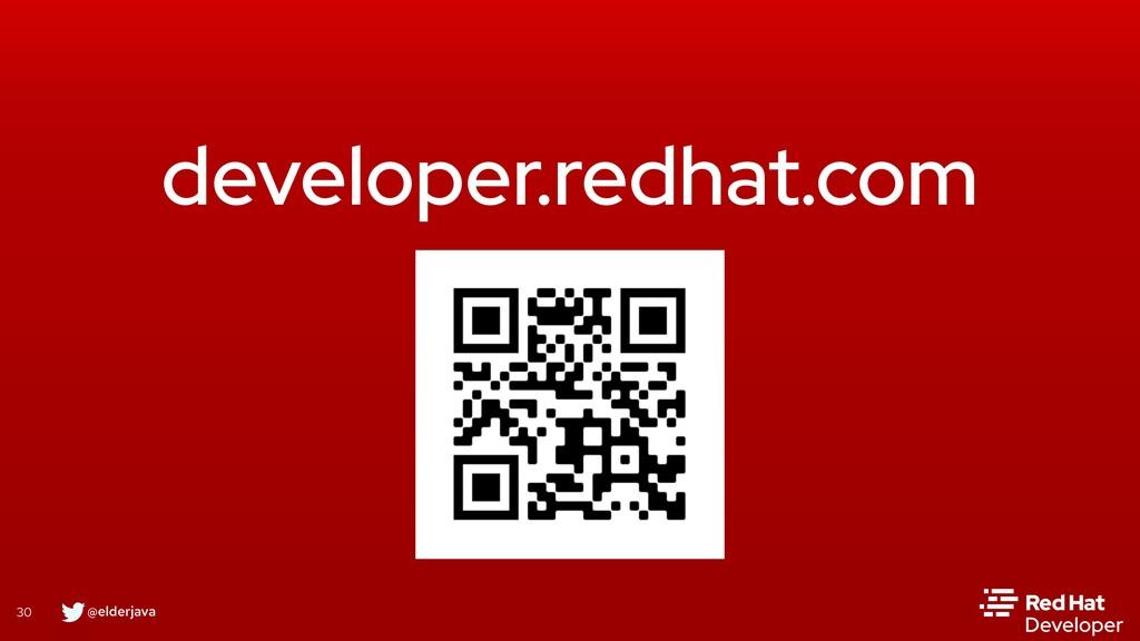 @elderjava 30 developer.redhat.com