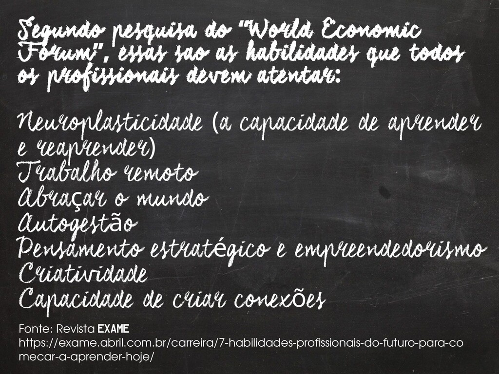 "27 Segundo pesquisa do World Economic "" Forum e..."