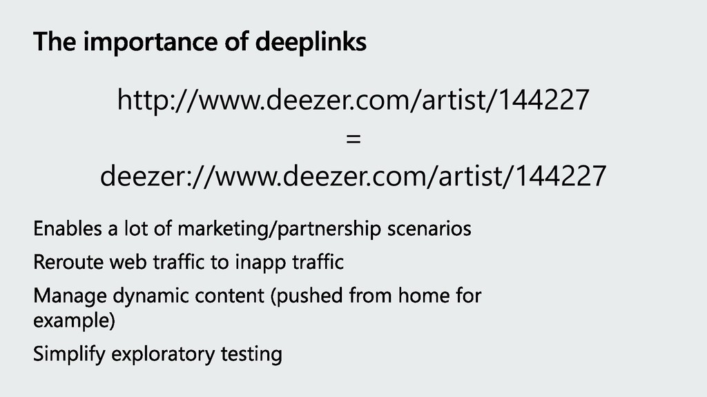 http://www.deezer.com/artist/144227 = deezer://...