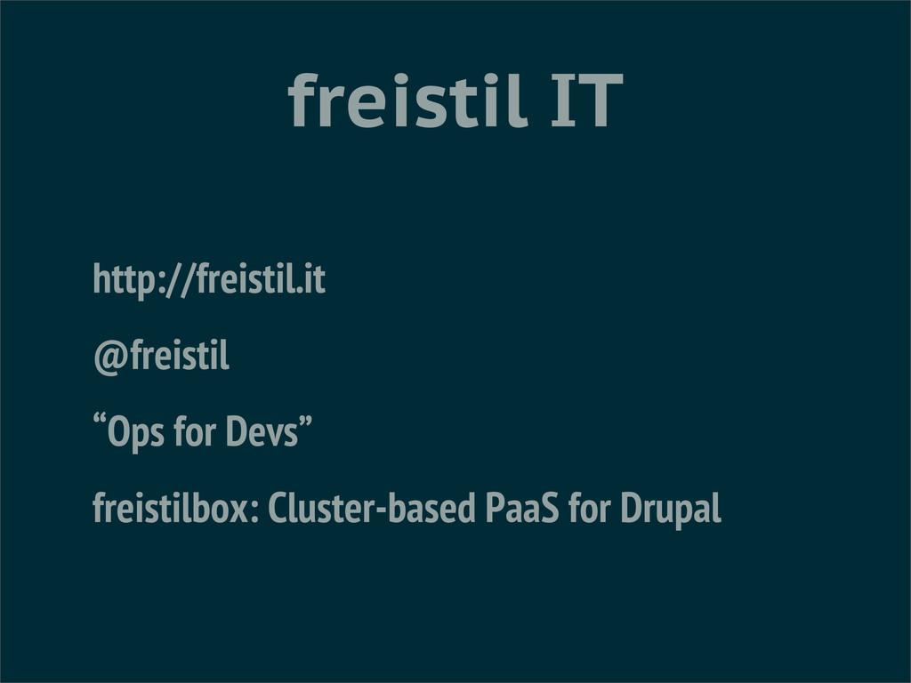 """freistil IT http://freistil.it @freistil """"Ops f..."""