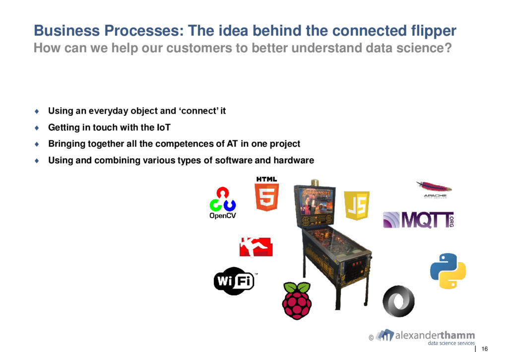 16 © Business Processes: The idea behind the co...