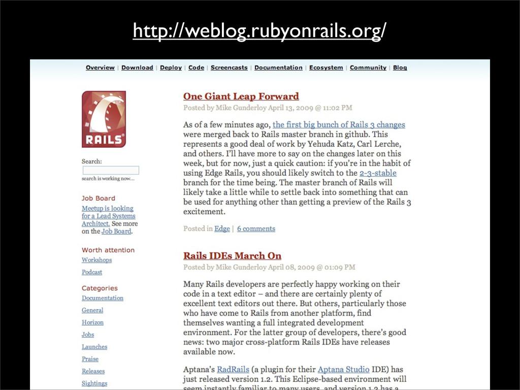 http://weblog.rubyonrails.org/