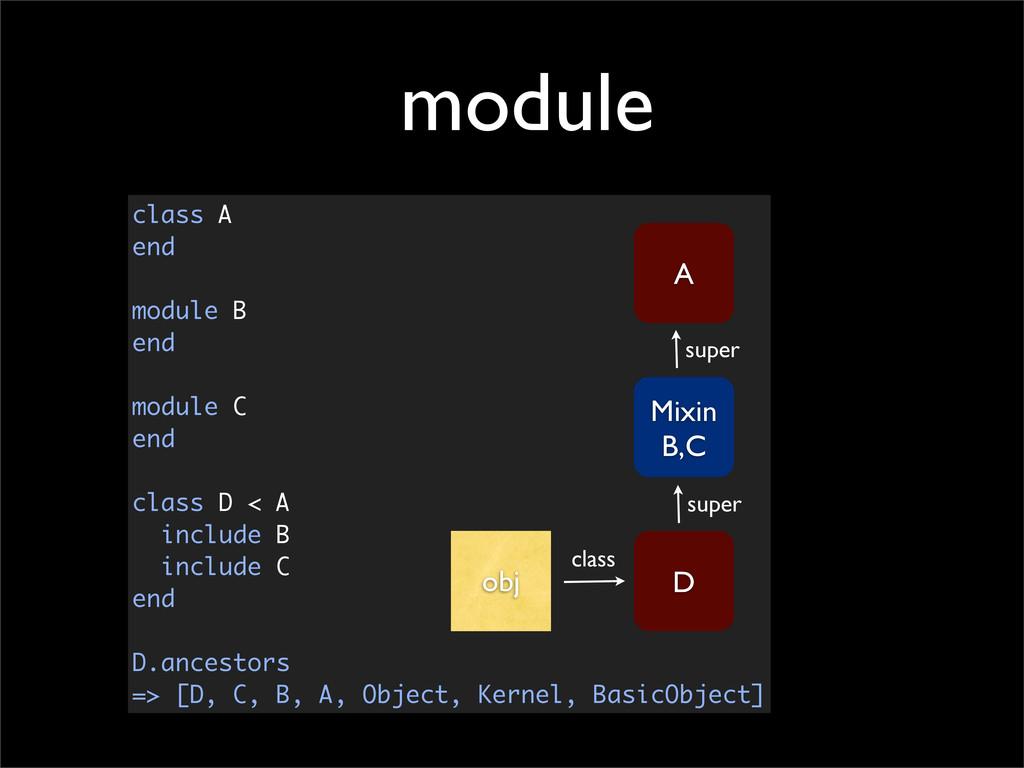 class A end module B end module C end class D <...