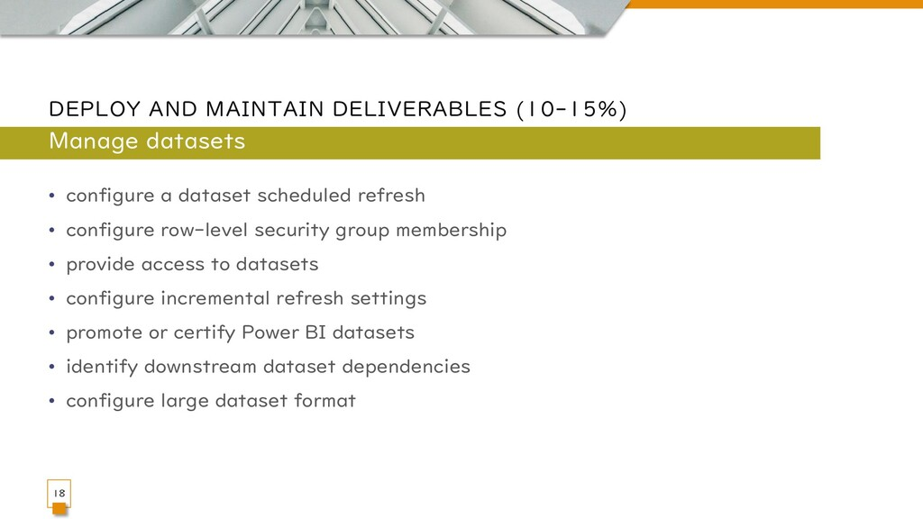 DEPLOY AND MAINTAIN DELIVERABLES (10-15%) • con...