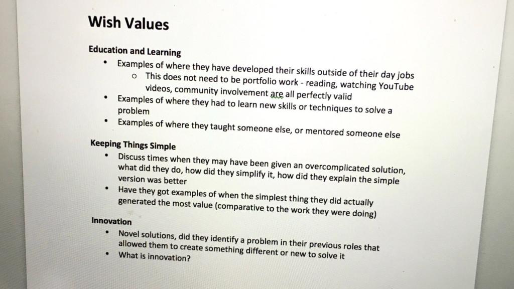 #agilemanc Design the process around your values