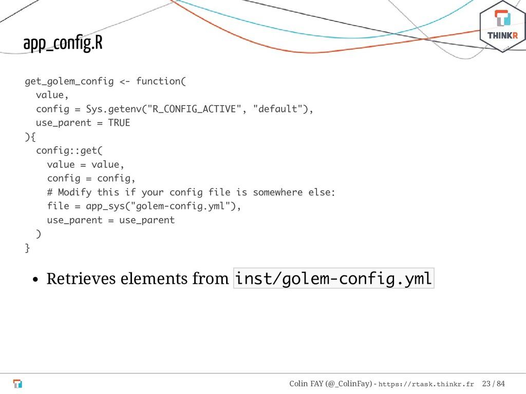 app_config.R get_golem_config <- function( value...