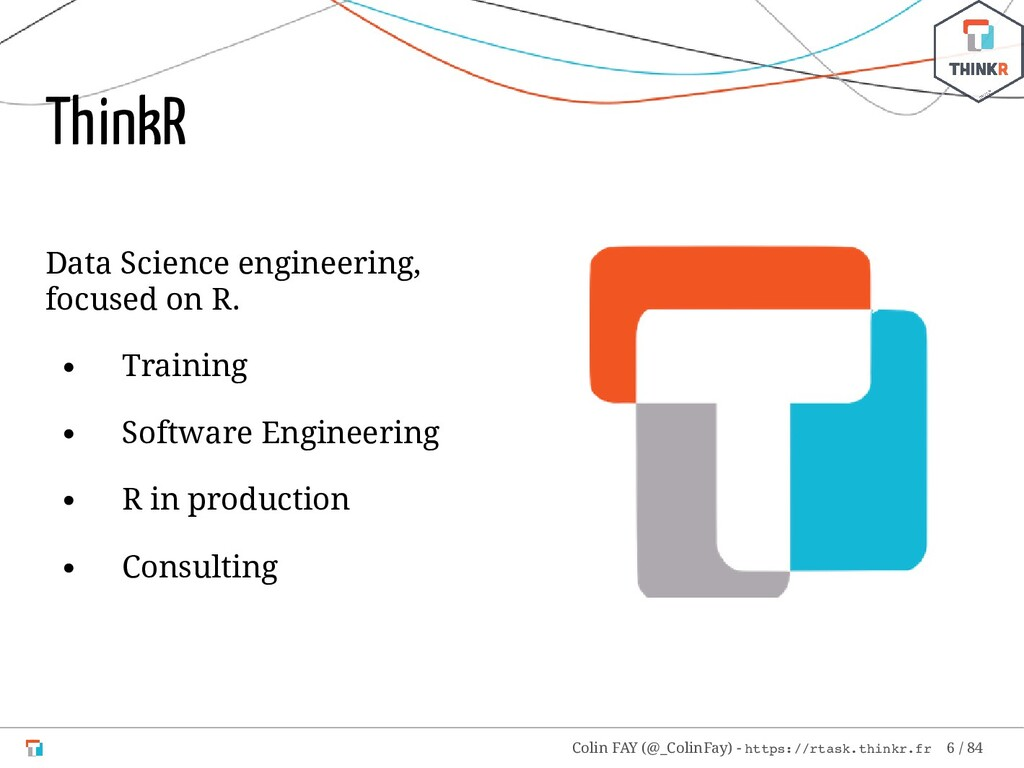 Data Science engineering, focused on R. Trainin...