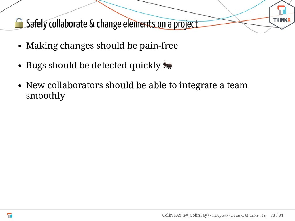 Safely collaborate & change elements on a proj...