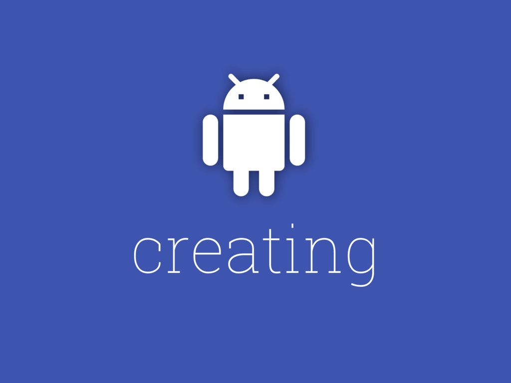 "creating """