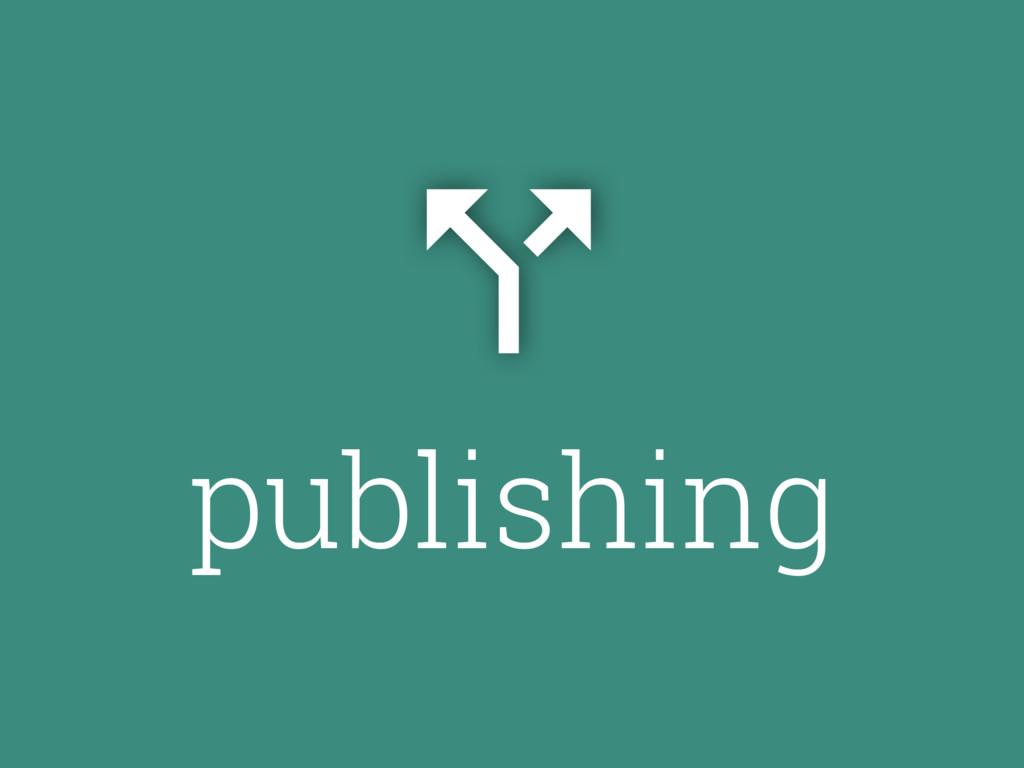 publishing #