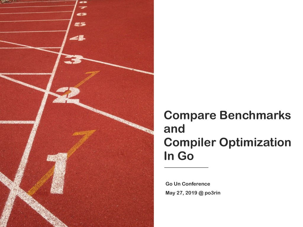 Compare Benchmarks and Compiler Optimization In...
