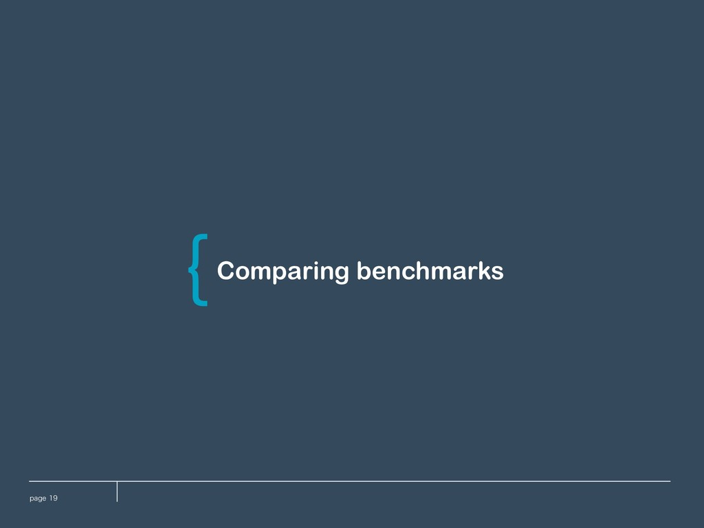 QBHF Comparing benchmarks \