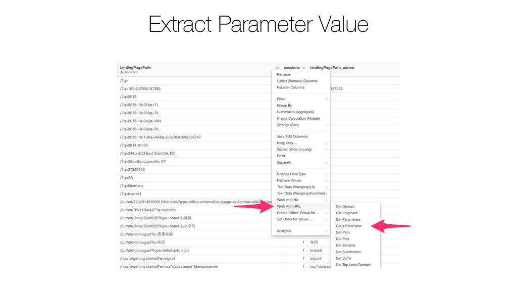 Extract Parameter Value