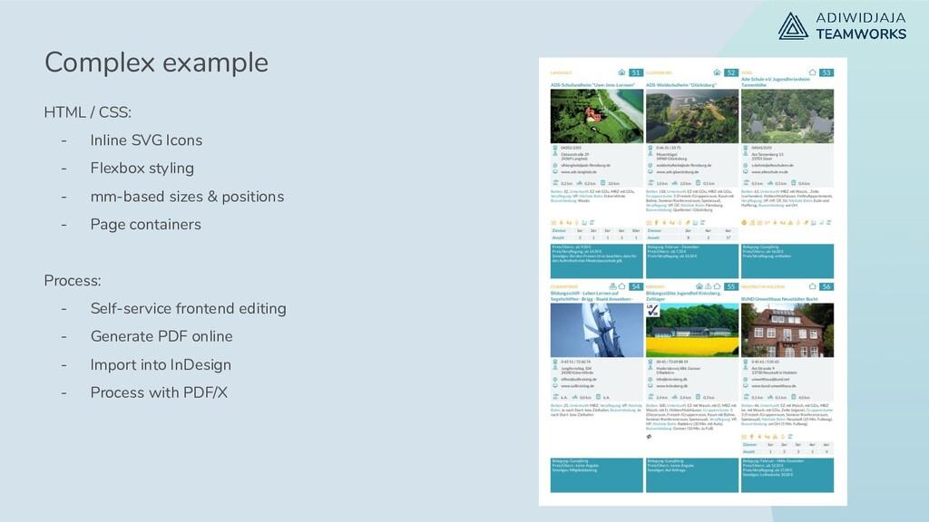 HTML / CSS: - Inline SVG Icons - Flexbox stylin...