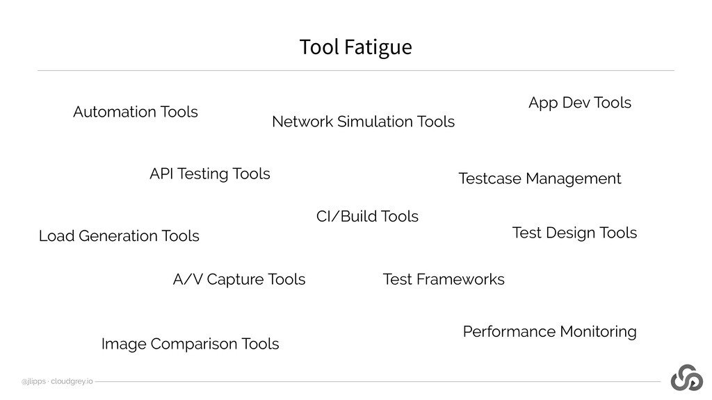 Tool Fatigue @jlipps · cloudgrey.io Automation ...