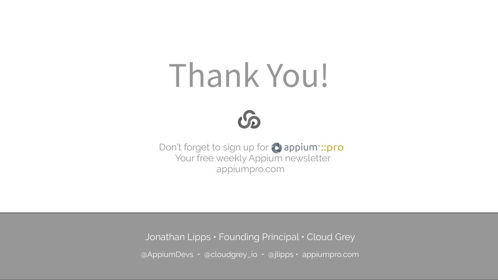 Thank You! Don't forget to sign up for Your fre...