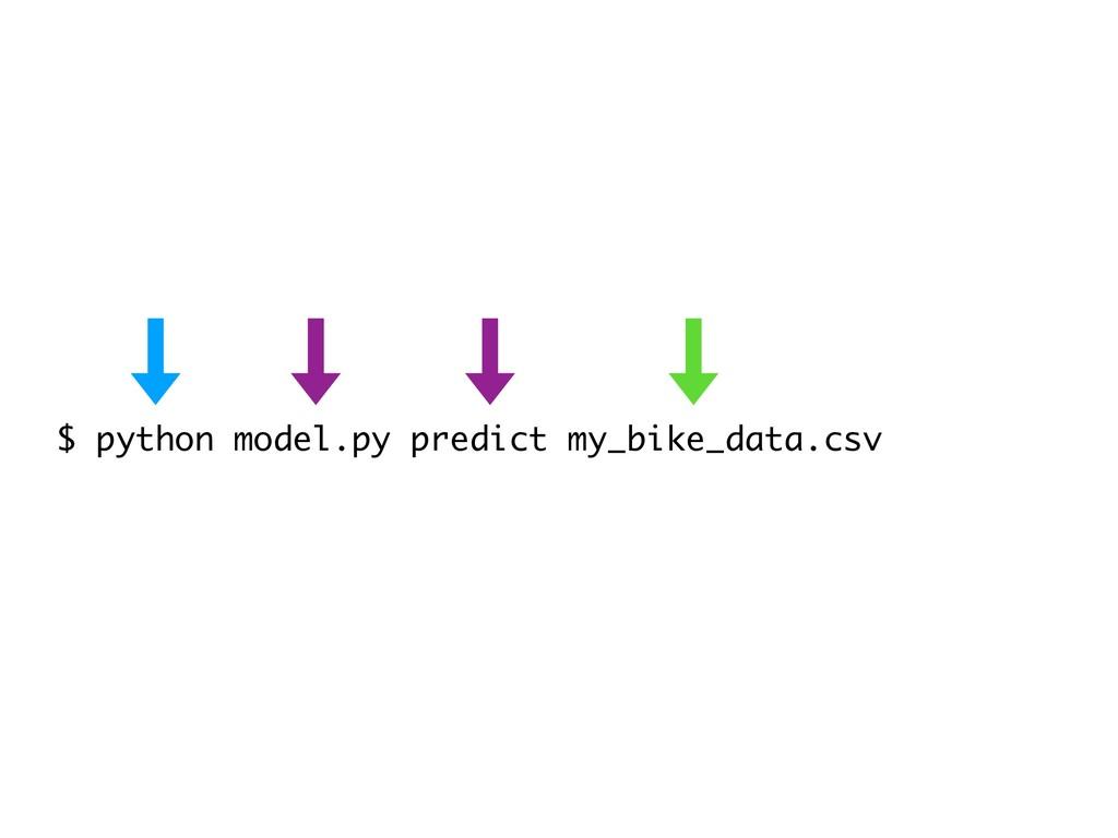 $ python model.py predict my_bike_data.csv