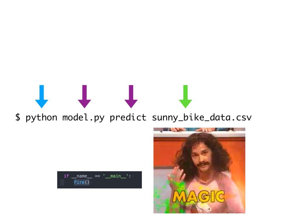 $ python model.py predict sunny_bike_data.csv