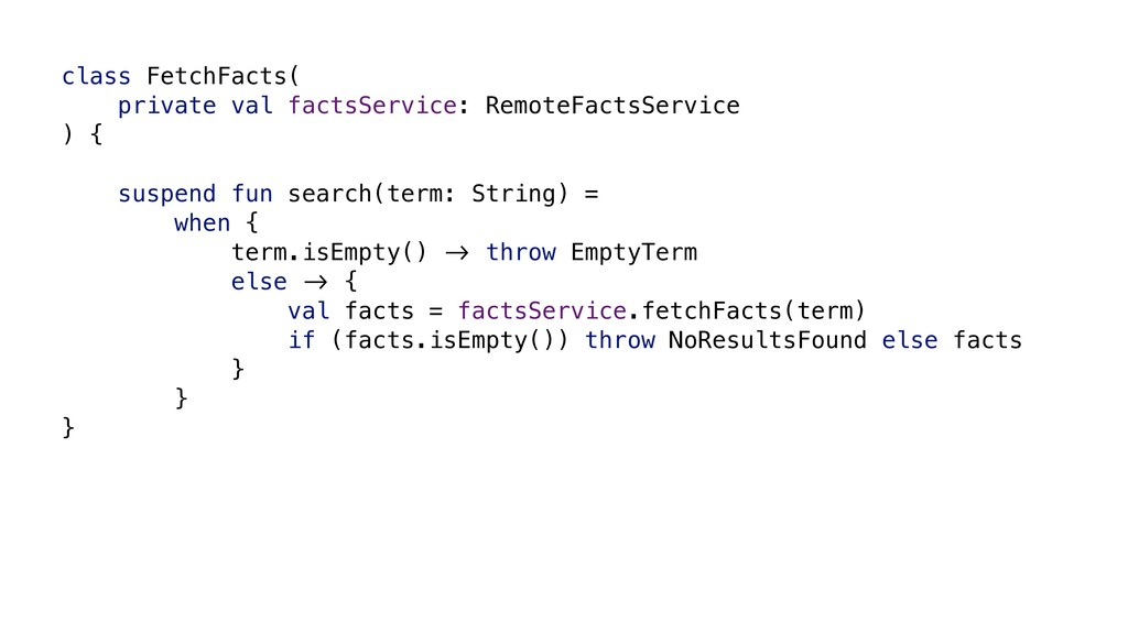 class FetchFacts( private val factsService: Rem...