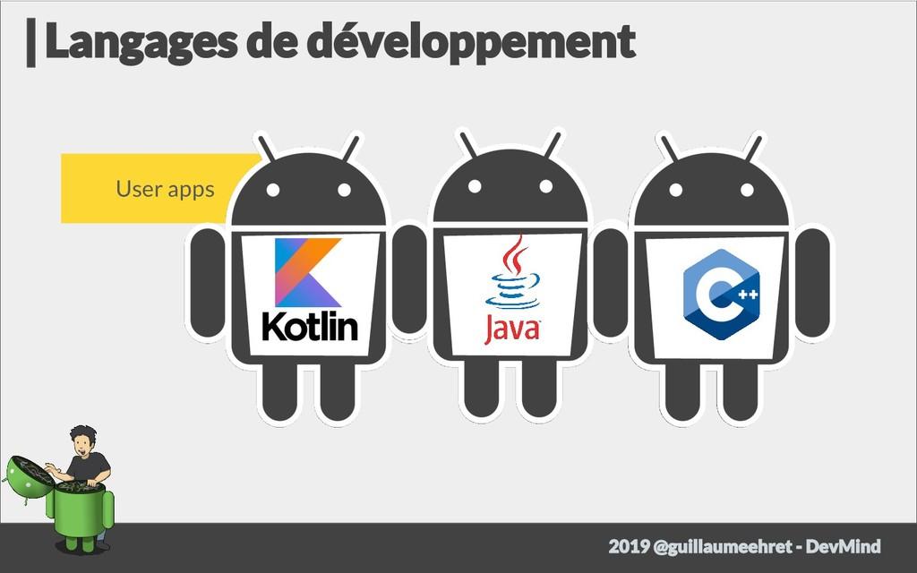 User apps