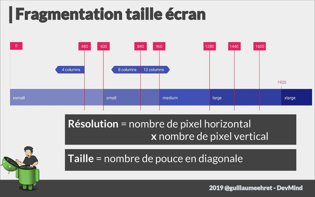 Résolution = nombre de pixel horizontal x nombr...