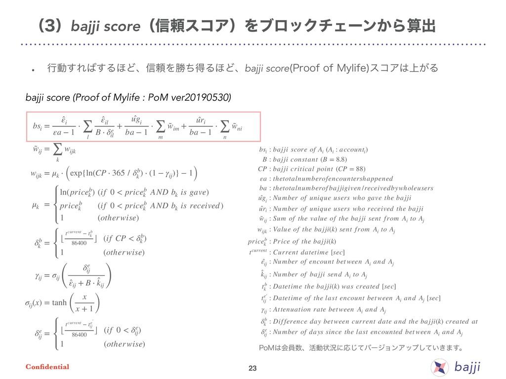 Confidential bsi = ̂ εi εa − 1 ⋅ ∑ l ̂ εil B ⋅ δ...