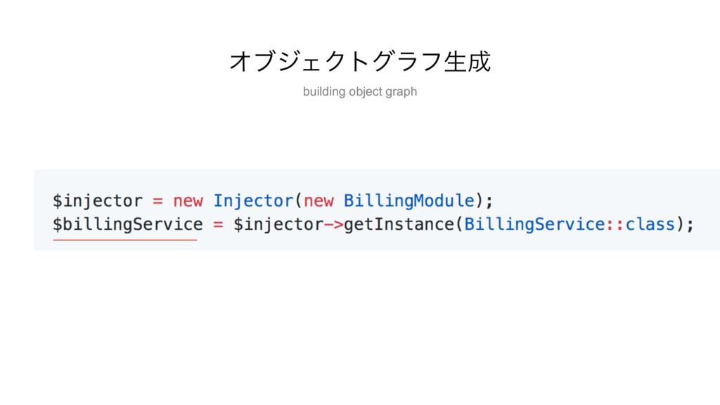 ΦϒδΣΫτάϥϑੜ building object graph