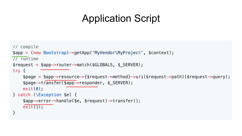 Application Script