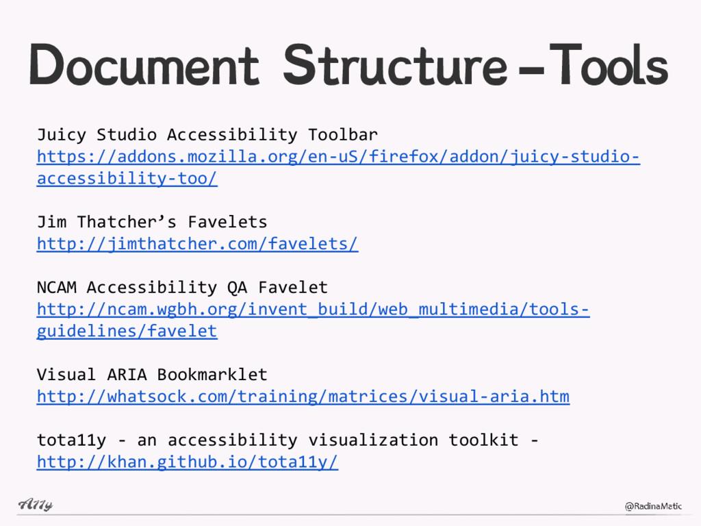 Document Structure-Tools Juicy Studio Accessibi...
