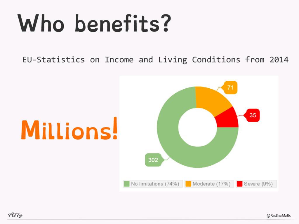 Who benefits? EU-Statistics on Income and Livin...