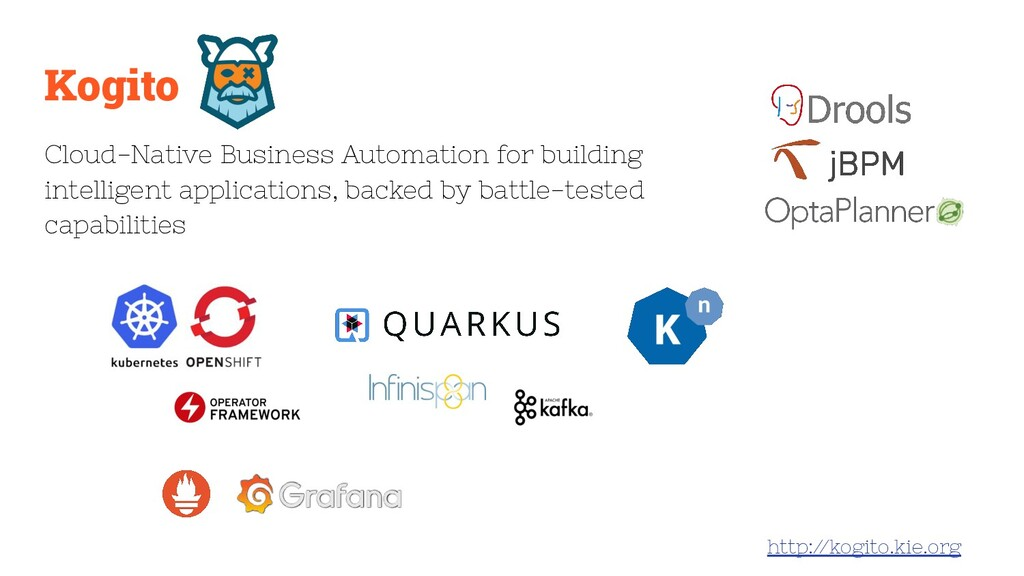 Kogito Cloud-Native Business Automation for bui...