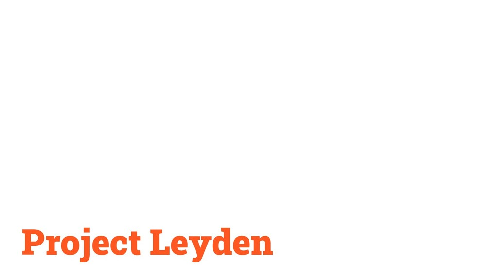 Project Leyden