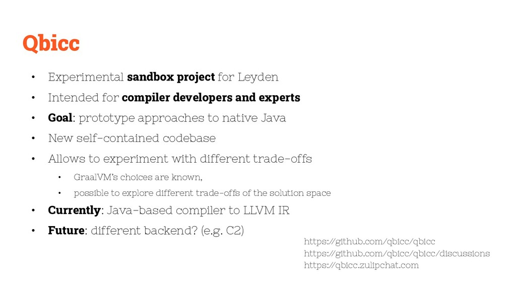 Qbicc • Experimental sandbox project for Leyden...