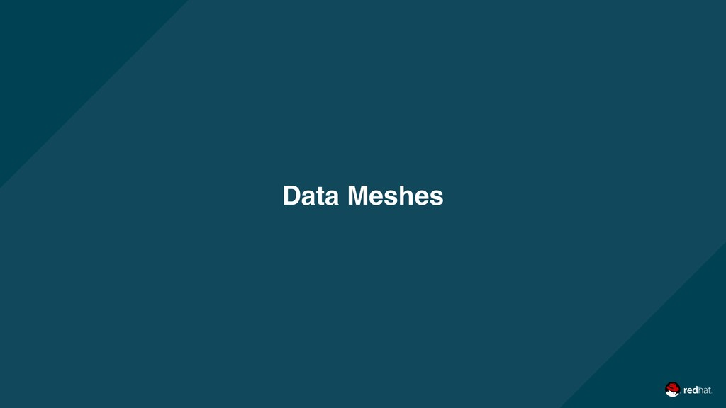 Data Meshes