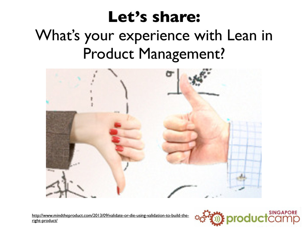 Let's share: What's your experience with Lean i...