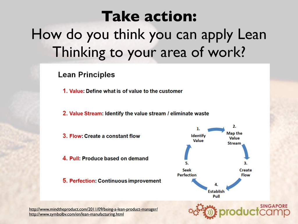 Take action: How do you think you can apply Lea...