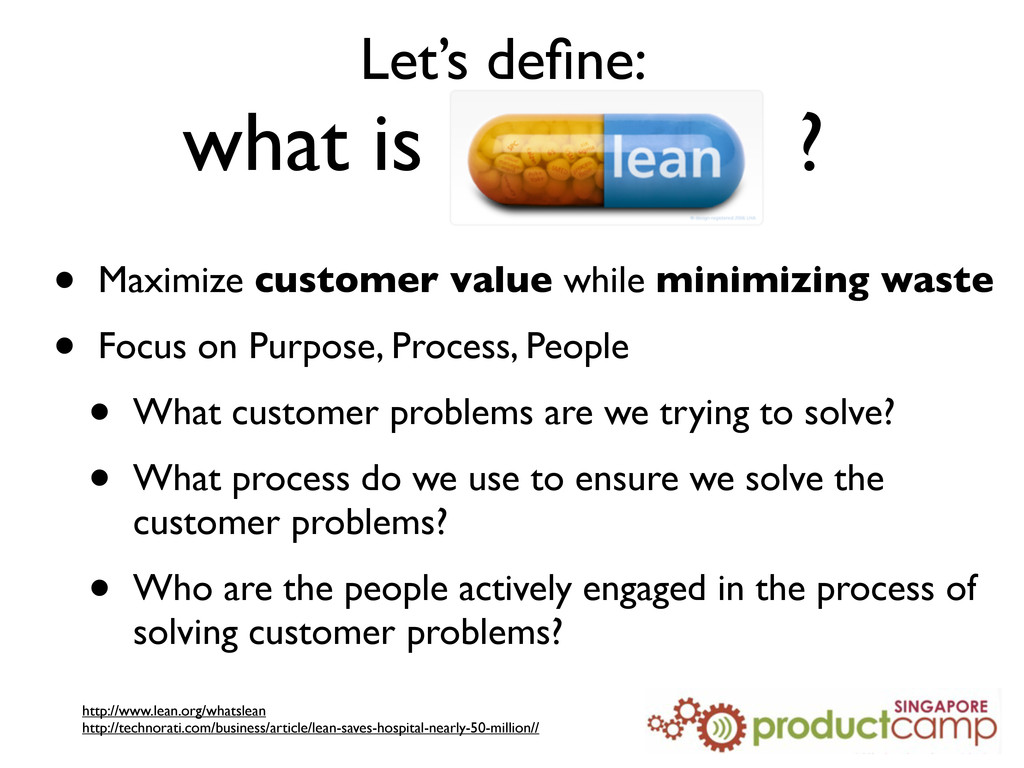 Let's define: what is ? • Maximize customer valu...
