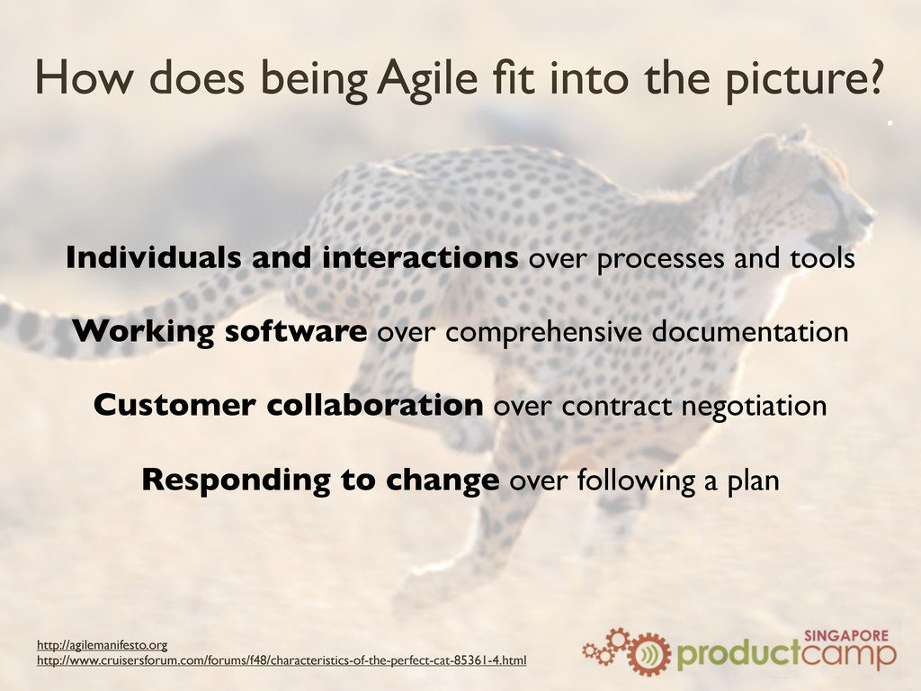 How does being Agile fit into the picture? http:...