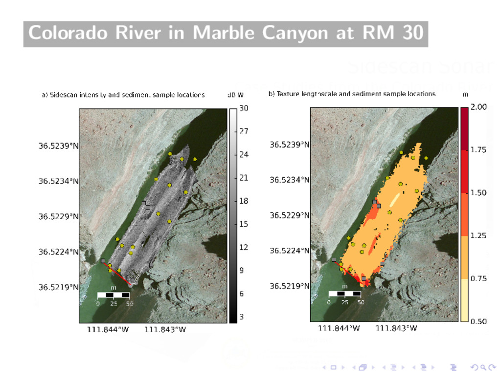 Colorado River in Marble Canyon at RM 30