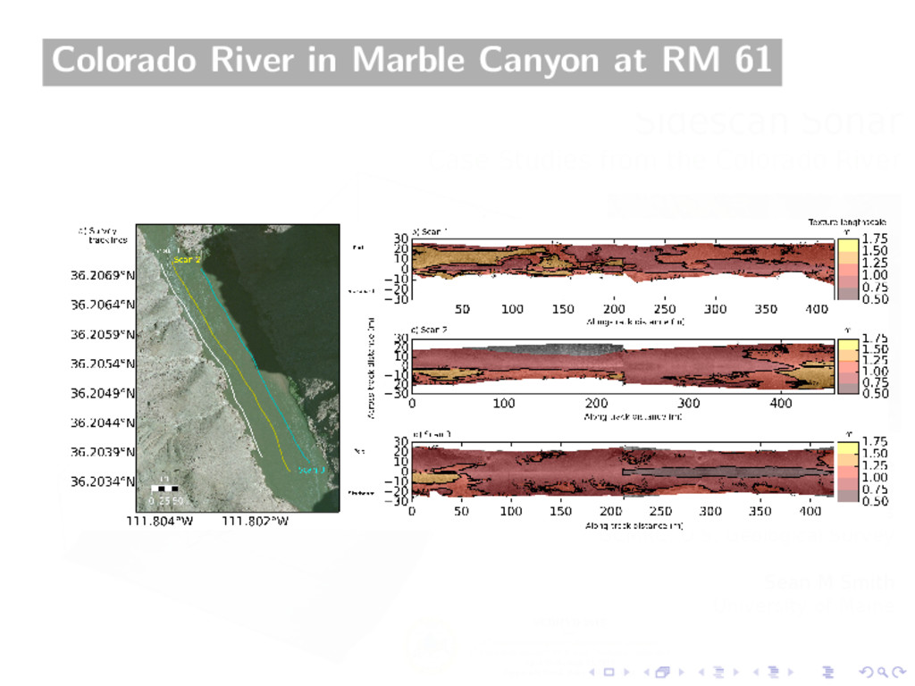 Colorado River in Marble Canyon at RM 61