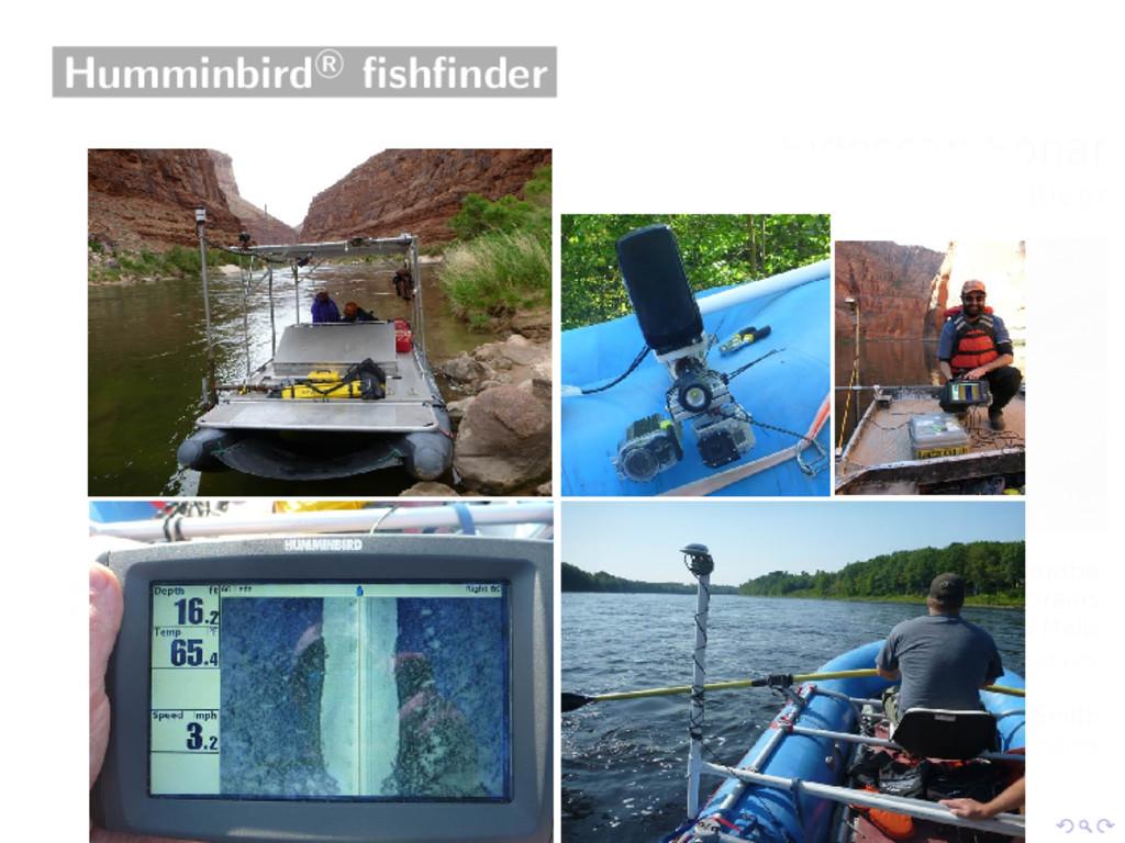 Humminbird R fishfinder