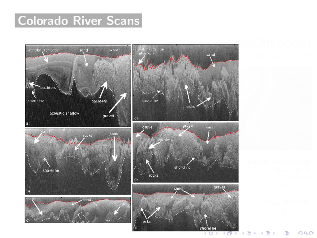 Colorado River Scans
