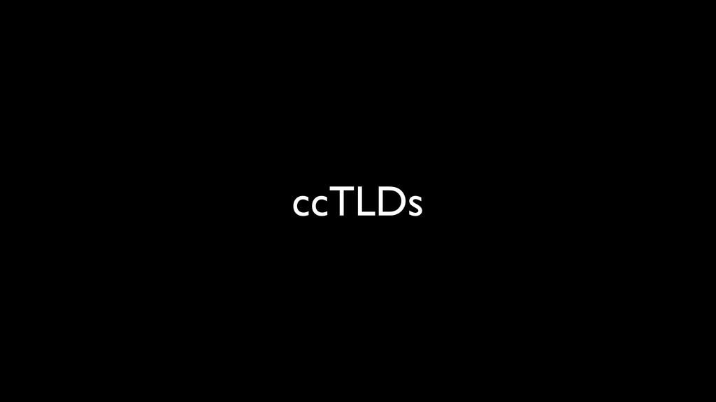 ccTLDs