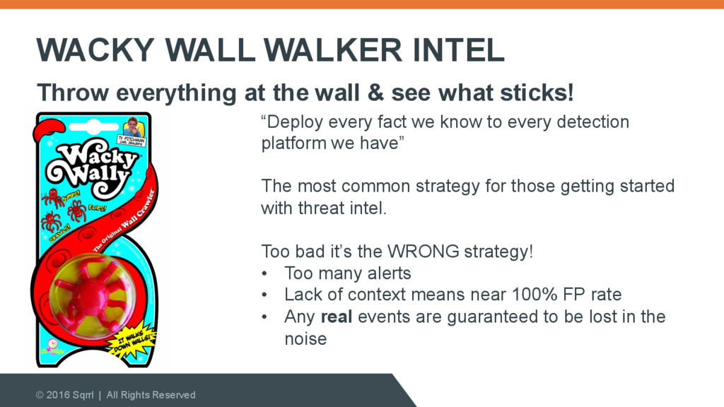 WACKY WALL WALKER INTEL © 2016 Sqrrl | All Righ...