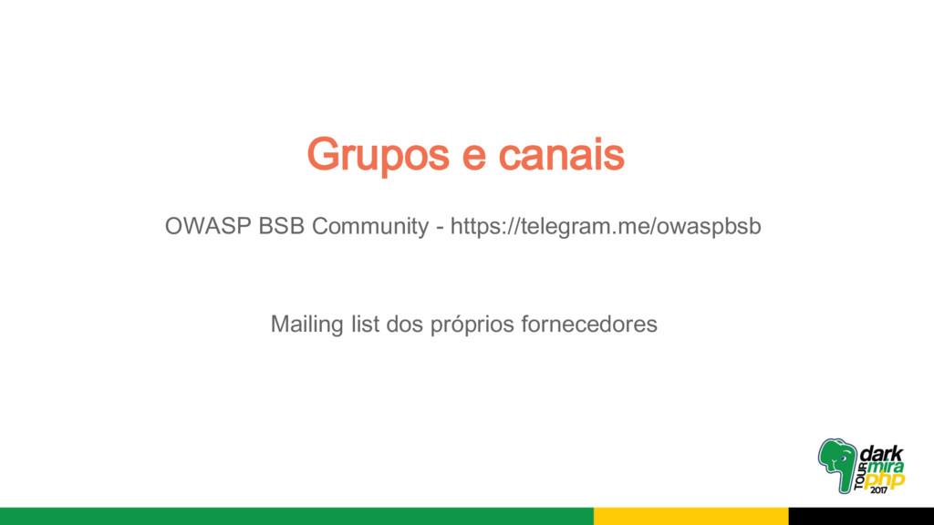 OWASP BSB Community - https://telegram.me/owasp...