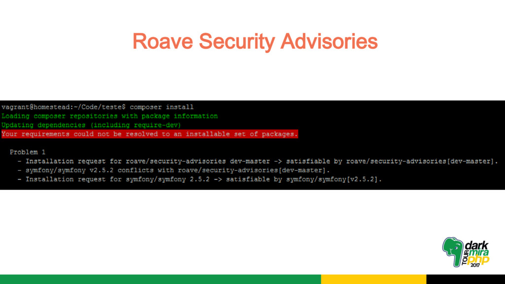 Roave Security Advisories