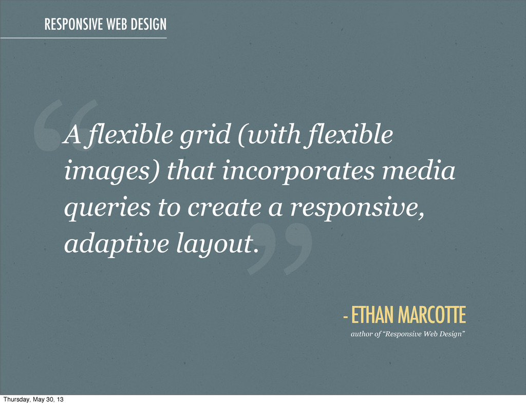 A flexible grid (with flexible images) that inc...