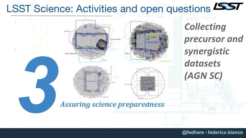 3 Assuring science preparedness Collecting prec...
