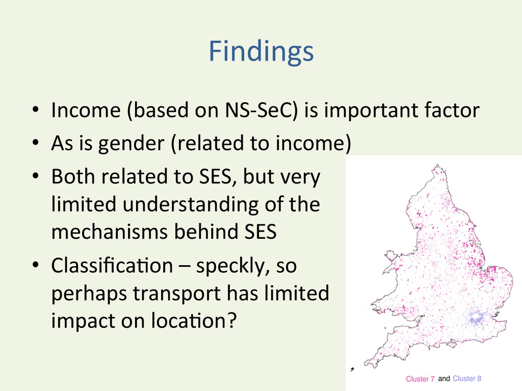 Findings	