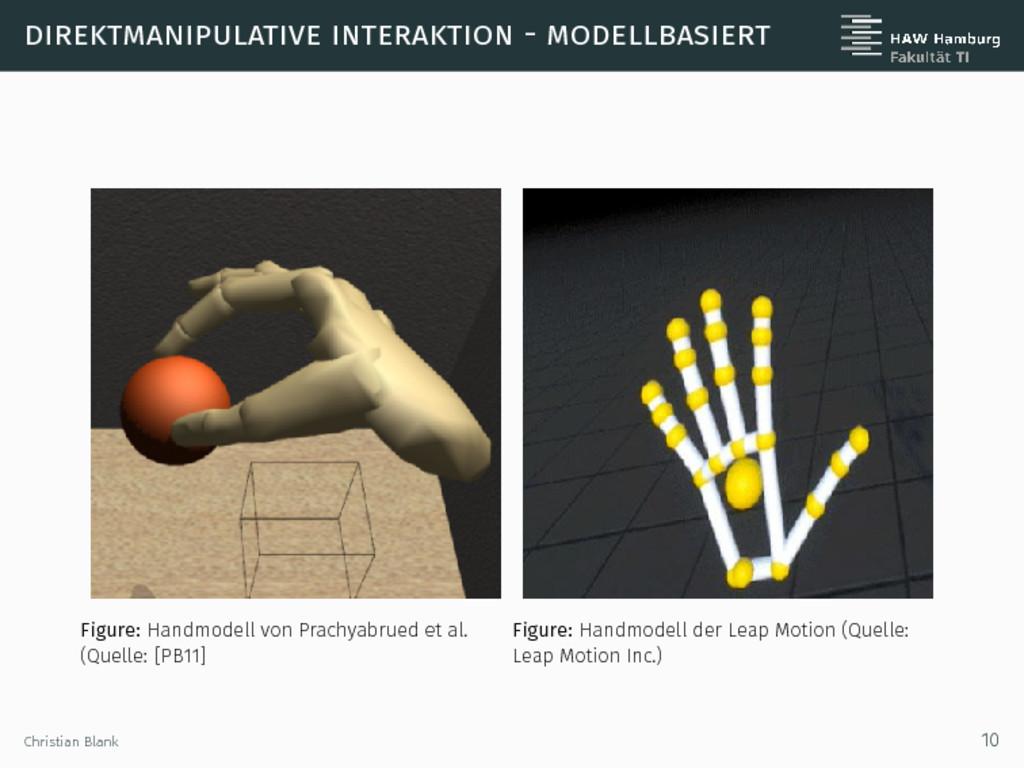 direktmanipulative interaktion - modellbasiert ...